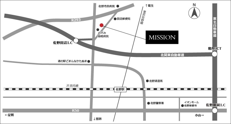 MISSION周辺マップ